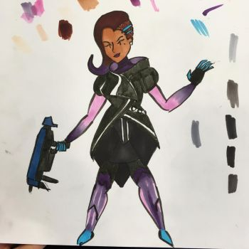 Sombra doodle by LuthienArtist