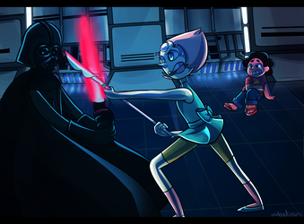Steven Universe/Star Wars Crossover [COMMISSION] by UndeadSolaris