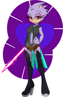 Assassin Lavender.dpx by LadyDeathBlossom