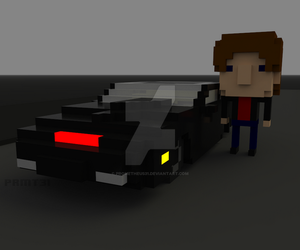 WIP Knight Rider 2 by prometheus31