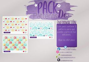 ~.Pack de Patterns #25 by ISirensDesigns