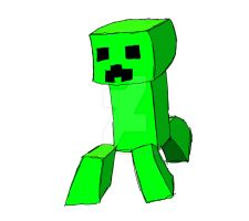 Creeper outline and colors by xxmidnight12xx