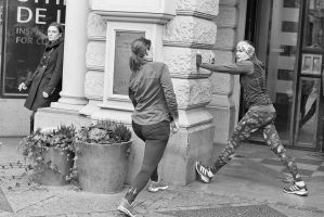 The exercisers by sandas04