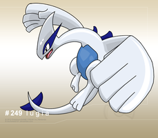 249 Lugia by aschefield101