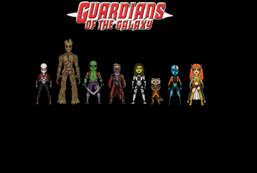 Guardians of the Galaxy by Jalil1m