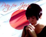 Pray for Japan by keedaHartzJam