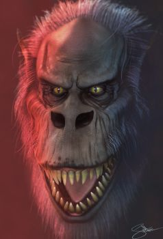 Creepshow Fluffy 3D Model by FoxHound1984