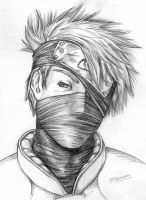 Kakashi by iHollowHeart