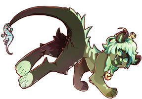commission 3: lizards!!!! by DragonHF