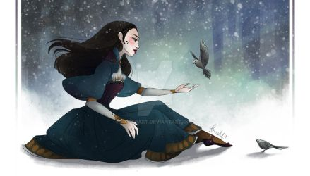 Snow White by Anna-MariyaG