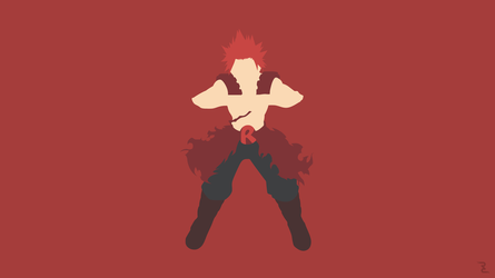 Boku no Hero Academia, Eijirou Kirishima Wallpaper by Rendracula