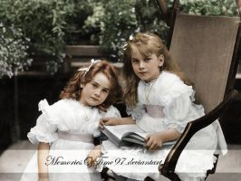Edwardian girls by MemoriesOfTime97