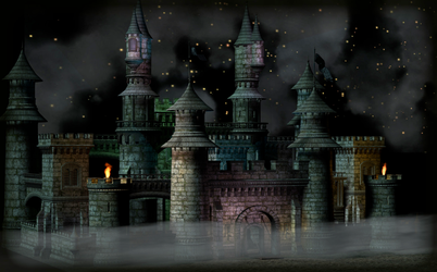 Dark Magic Castle - 1 by miwaoftheunknown