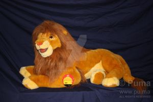 The Lion King - Adult Simba plush by Douglas Co. by dapumakat