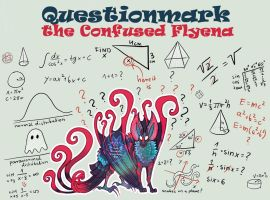 [CLOSED] Questionmark the Confused Flyena by FlyingCarpets