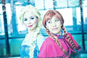The Arendelle Sisters by seseostara