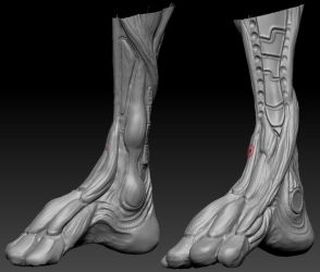 highpoly sculpt 05 by Indrome
