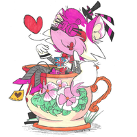 Madame Mangle's Tea Party by Cocowalnut