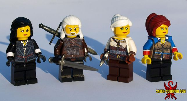 LEGO The Witcher 3: The Wild Hunt by Saber-Scorpion