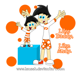 Like Daddy, Like Andy... by Leneeh