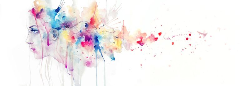wake of herself by agnes-cecile