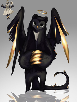Golden Angel [Taum Redesign] by badC4T