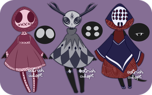 Spooky Mocchin Adopts [ CLOSED ] by OstrichAdopts
