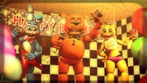 The Toy's Performance [REDO] (fnaf sfm) by JR2417