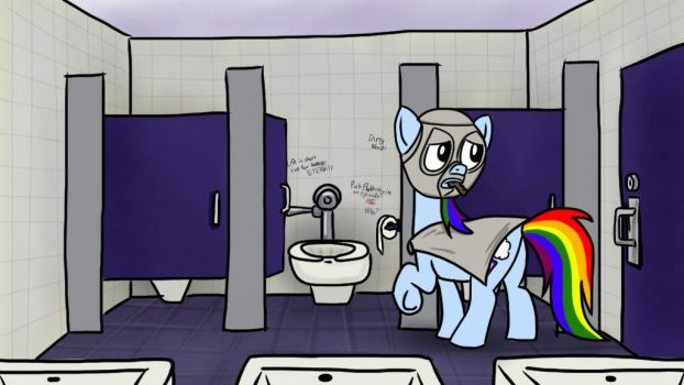 Rainbow Factory 35 - Stalling in the stall by petirep