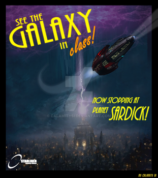 Doctor Who: See the Galaxy in Class! by calamitySi