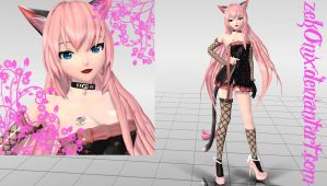 DT_Ladies Neko Luka + DL by ZekoNix