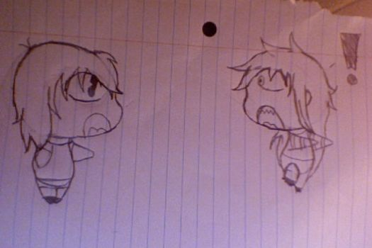chibi grell sutcliff and chibi me by grelllady