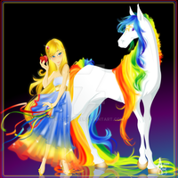 :Rainbows and Stars: by Asher-Bee
