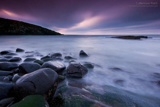 Cullernose Point by jamesholephoto