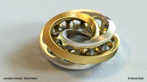 jewelry design part 2 (moebius ring part 1) mat 4 by Bernd-Haier