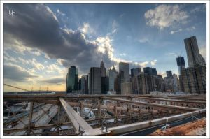 Lower Manhattan III by hmdll