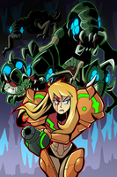 Metroid 2 poster by Anaugi