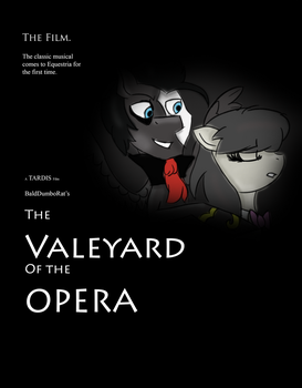 The Valeyard of the Opera{Movie Poster} by SteampunkSalutation