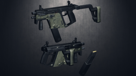 [MMD] 45.ACP Kriss Vector for DL by AbyssLeo
