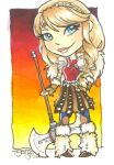 Chibi Astrid by TLSeely