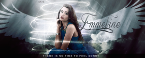 There's no time to feel sorry - Emmeline Signature by skyelicius