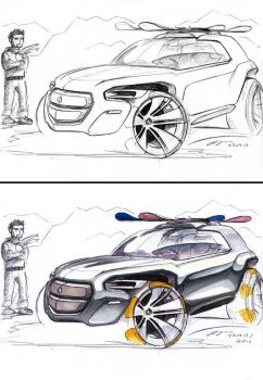 Grote-Design Small SUV by grote-design