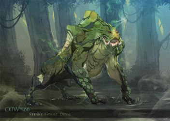 Swamp Devil by nJoo