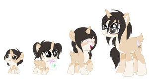 Cookie Cream Age Chart by CookieFoxButt