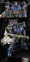 End of the Road custom Ultra Magnus Transformers by Jin-Saotome