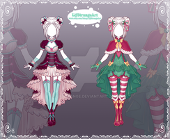 [Close] Adoptable Outfit Auction 140-141 by LifStrange