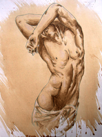 Study of a male nude by Stalky-Jack