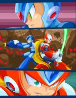 Megaman Tribute by Edgar-Q