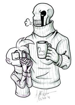 OFF: Chester and Dedan in Sweaters by NeroStreet