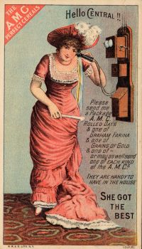 Victorian Advertising - She Got The Best by Yesterdays-Paper